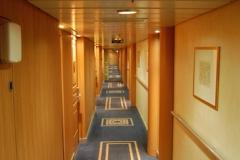 MSC Armonia Kabinengang Deck 10 Tormalina