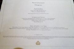 QUEEN ELIZABETH - Britannia Restaurant - Mittagsmenü