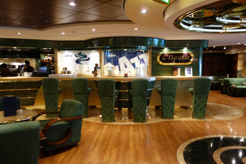 MSC Splendida - L'Espresseo Coffee Bar Archive - Cruisedeck