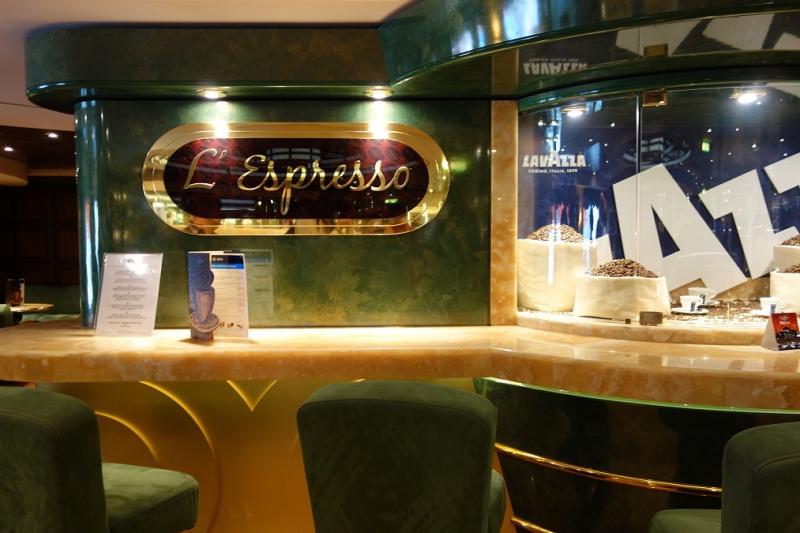 MSC Splendida - L'Espresseo Coffee Bar Archive - Cruisedeck