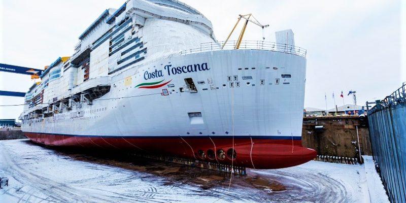 COSTA TOSCANA at Meyer Turku shipyard