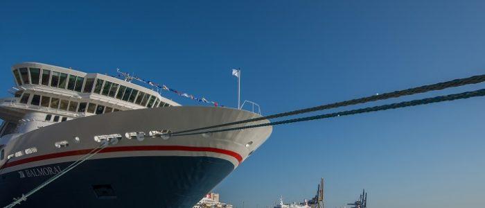 Captains in Cadiz - Flottentreffen von Fred. Olsen Cruise Lines