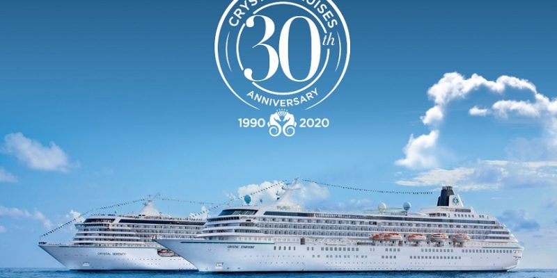 Crystal Cruises 30th Anniversary