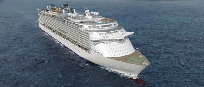 Schiff der Global Class - Bauwerft MV-Werften