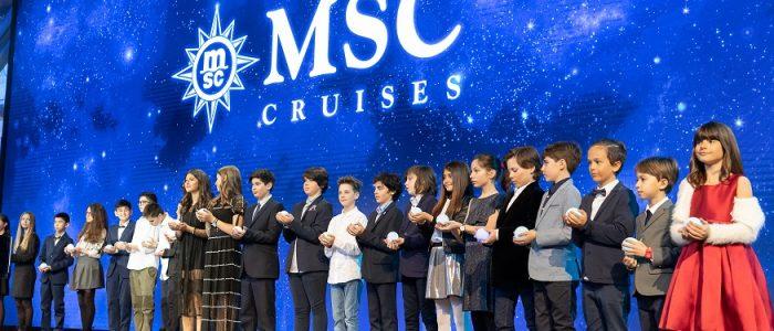 MSC Bellissima - Taufe in Southampton