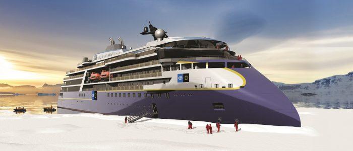 Zweiter Neubau mit X-Bow für Lindblad Expeditions