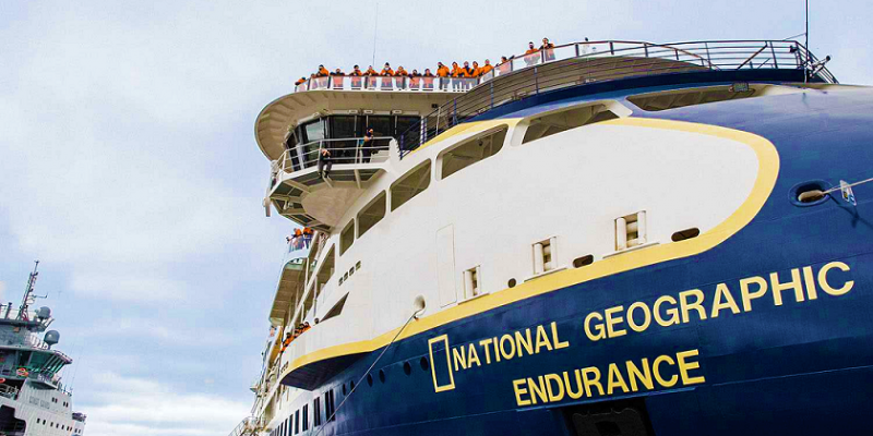 National Geographic Endurance - Taufe