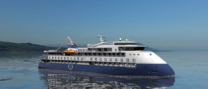 X-Bow-Expeditionsschiff für Victory Cruise Lines