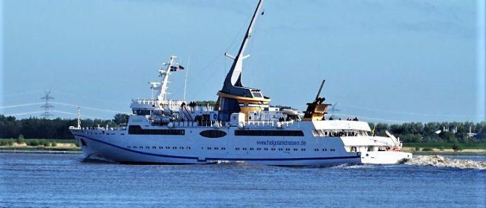 Seebäderschiff HELGOLAND