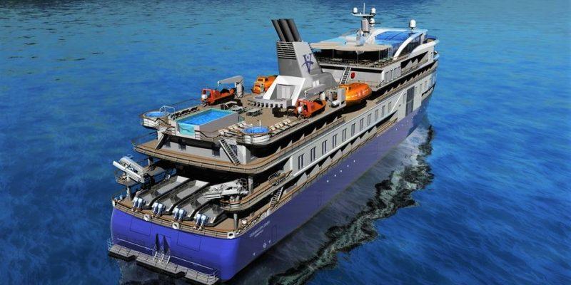 OCEAN EXPLORER - Vantage Cruise Line - SunStone Ships