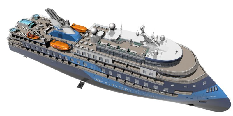 Expedition cruise ship OCEAN VICTORY