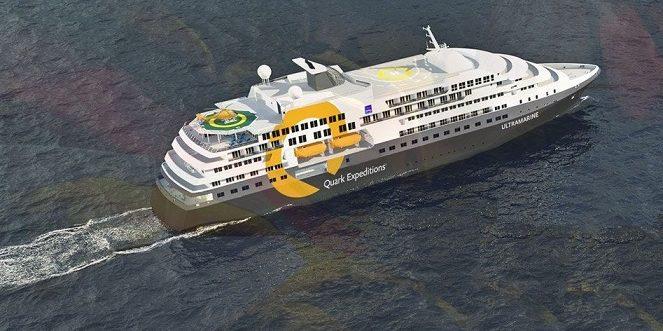 Expeditions-Kreuzfahrtschiff Ultramarine