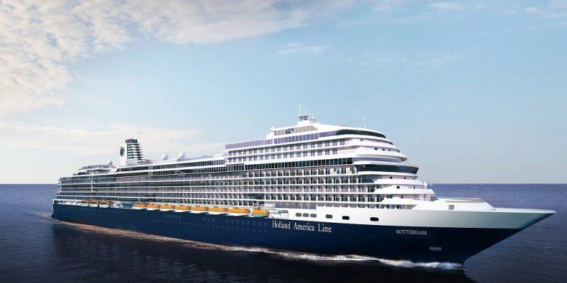Cruise ship ROTTERDAM - Holland America Line